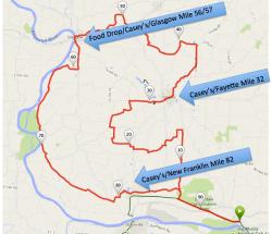 Full route